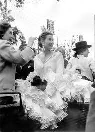 Grace Kelly de flamenca por Lina