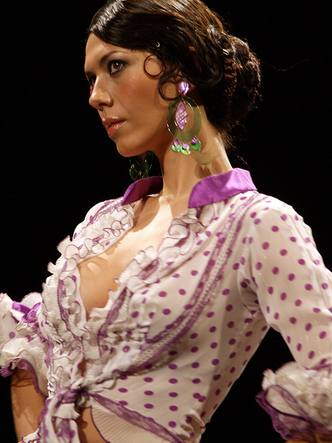 Peinados de flamenca 1