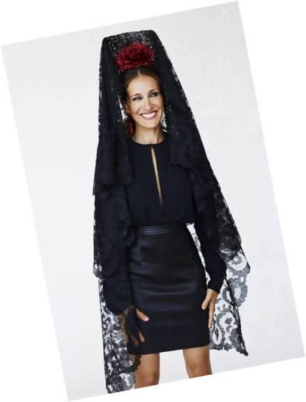 Carrie Mantilla Vogue