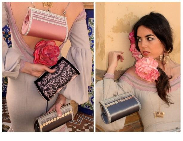 Bolsos de flamenca