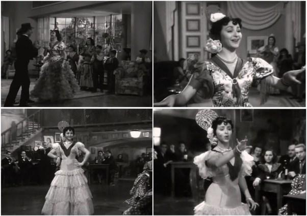 Marujita Diaz en Una cubana en España 1951