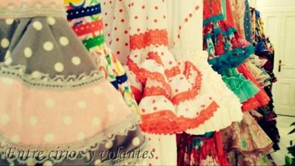Trajes de flamenca de Pilar Vera