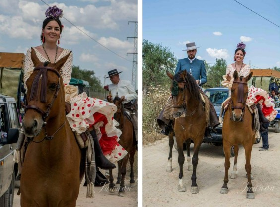 Rocio 2015 Entre cirios y volantes Fotos Juanon 2