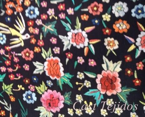 tela tipo manton de manila de cast tejidos