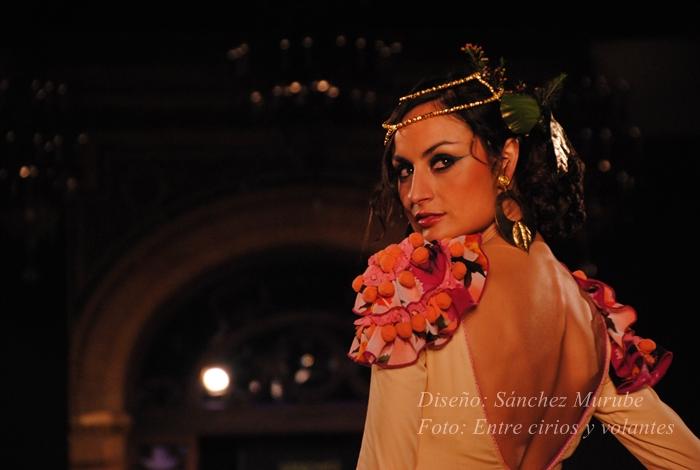 traje de flamenca sanchez murube foto entre cirios y volantes we love flamenco