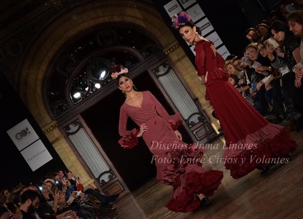 inma linares trajes de flamenca