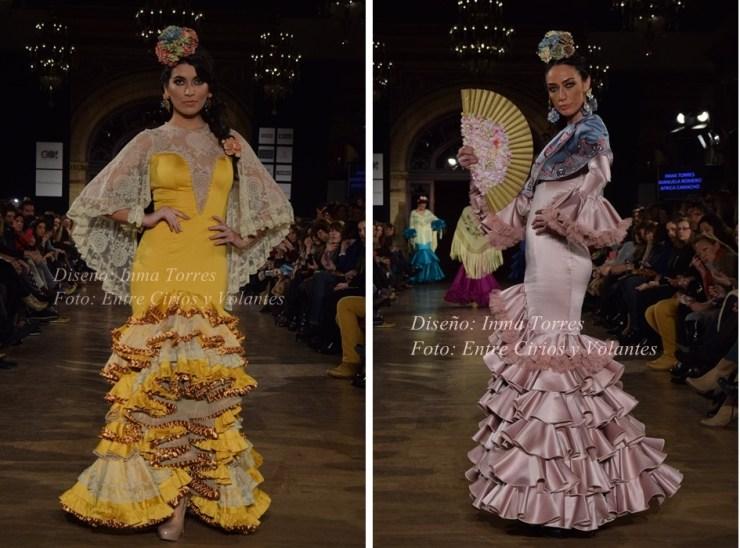 inma torres trajes de flamenca 2016