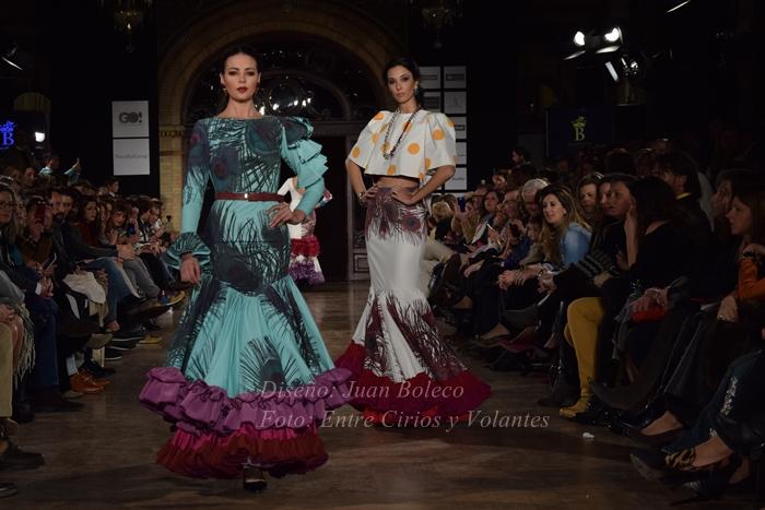 juan boleco trajes de flamenca entre cirios y volantes