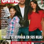 Pasando revista: GENTE, Tinelli cerca de sus hijos