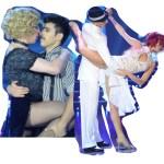 Bailando 2014: ¿Lizy Tagliani y El Cuba al teléfono?