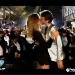 Bailando 2015: Así fue el baile el Flashmob de Paula Chaves y Pedro Alfonso. Video