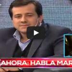 Maradona se enojó con Recalde en pleno programa de televisión. Video