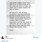 Loly Antoniale enamorada intercambia tweets amorosos con Oscar Campana