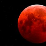 Esta noche se podrá ver la súper luna teñida de rojo