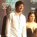 Lali Espósito y Santiago Mocorrea muy enamorados en el estreno de Séptimo Día