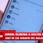 Ángel De Brito eliminó en vivo a Solita
