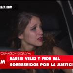 Barbie Vélez  esta pensando poner punto final a su causa contra Fede Bal