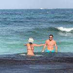 Las fotos de Pampita y Pico Mónaco muy fogosos en la playa