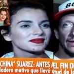 La China Suárez cuando falleció  su padre no vino a enterrarlo por quedarse con Cabré en el Caribe