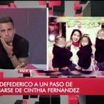 """Matías Defederico dijo que su separación de Cinthia Fernández es """"definitiva"""""""