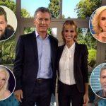 Mauricio Macri cenó en Olivos con Marcelo Tinelli, Mirtha Legrand, Susana Giménez, Adrián Suar y Mariana Fabbiani