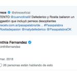 El picante mensaje de Cinthia Fernández para Matías Defederico por haber bailado con Rosita en Pasapalabra