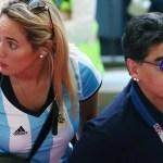 """Rocío Oliva confirmó su separación de Diego Maradona: """"Estamos en un impasse"""""""