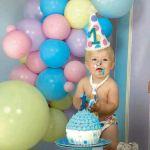 Las postales más tiernas del primer cumpleaños de Dionisio