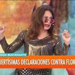 """Edda Bustamante discutió en vivo con los panelistas de """"Intrusos"""" y se retiró furiosa del estudio"""