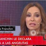 """La respuesta de las """"angelitas"""" a Analía Franchín"""