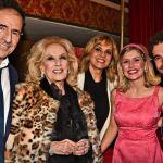 Mirtha Legrand aplaudió de a Nicolás Cabré y  Laurita Fernández