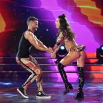 Cinthia Fernández renunció al Súper Bailando pero su novio no se quiere ir