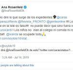 Ana Rosenfeld le respondió a Maxi López tras sus fuertes declaraciones