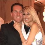 Aseguran que Javier Naselli se casó con que Vicky Xipolitakis para usarla de pantalla