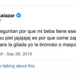 La insolita respuesta de Luli Salazar sobre la razón por la que Matilda tiene la piel anaranjada