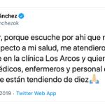 Lourdes Sánchez contó cómo evoluciona su infección