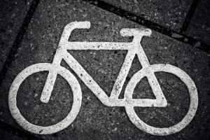 ciclista urbano en Madrid