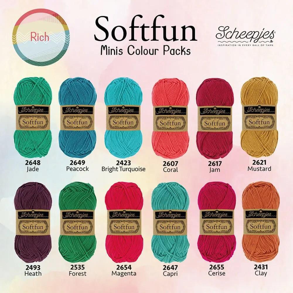 Softfun Minis Colour Pack