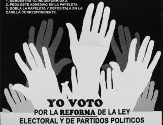 ¿Una reforma de ley incluyente? Análisis de la Ley Electoral y de Partidos Políticos