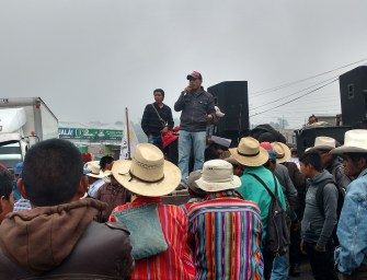 Racism responds when Guatemala's downtrodden block roads
