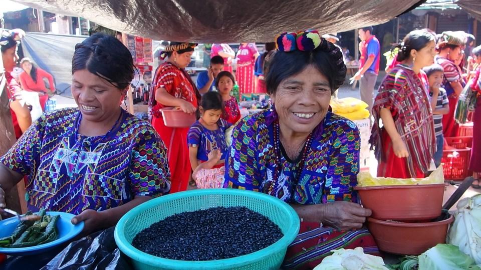 mayan-women-selling-beans-nebaj