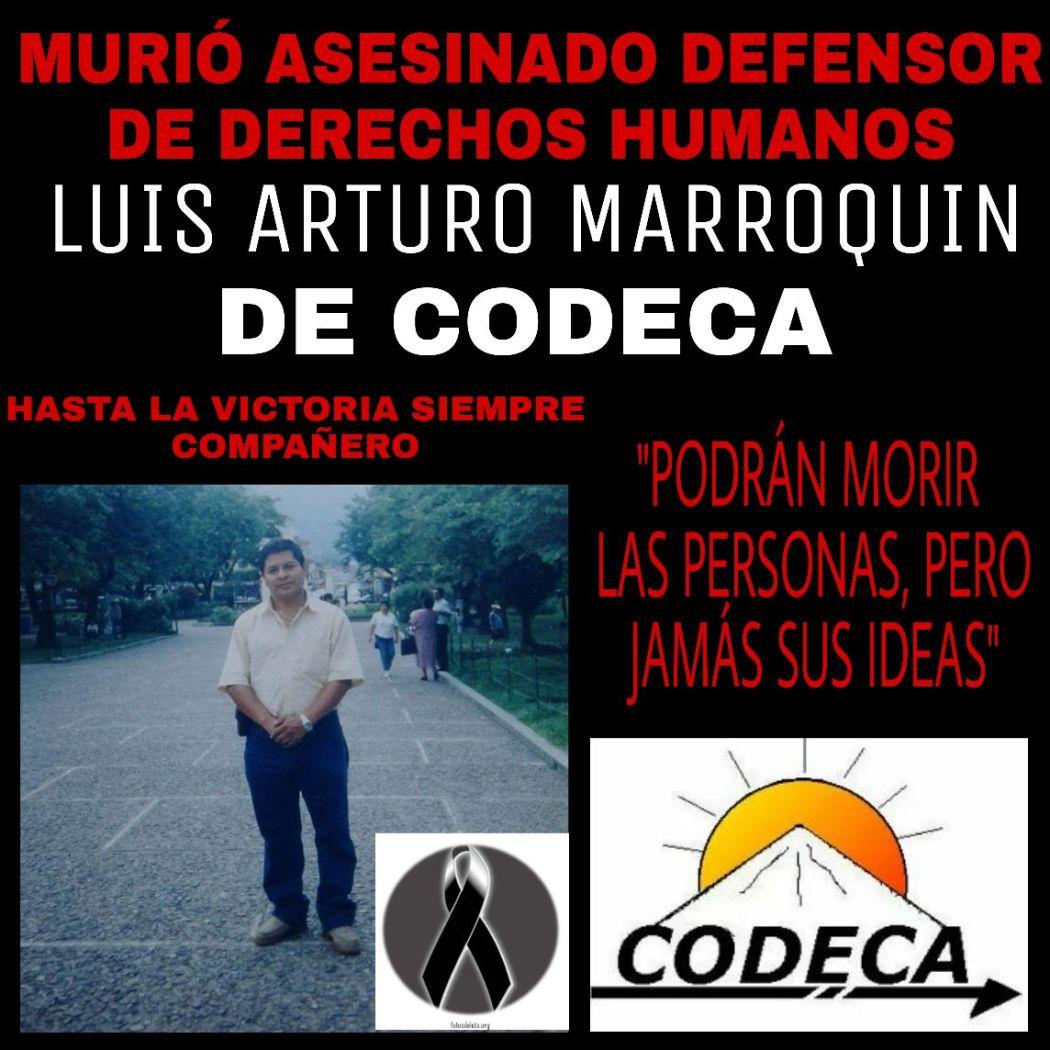 LuisMarroquínAsesinadoCodeca