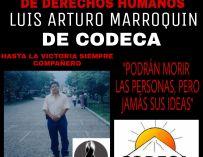 Otro activista asesinado: Luis Marroquín – coordinador regional de Codeca