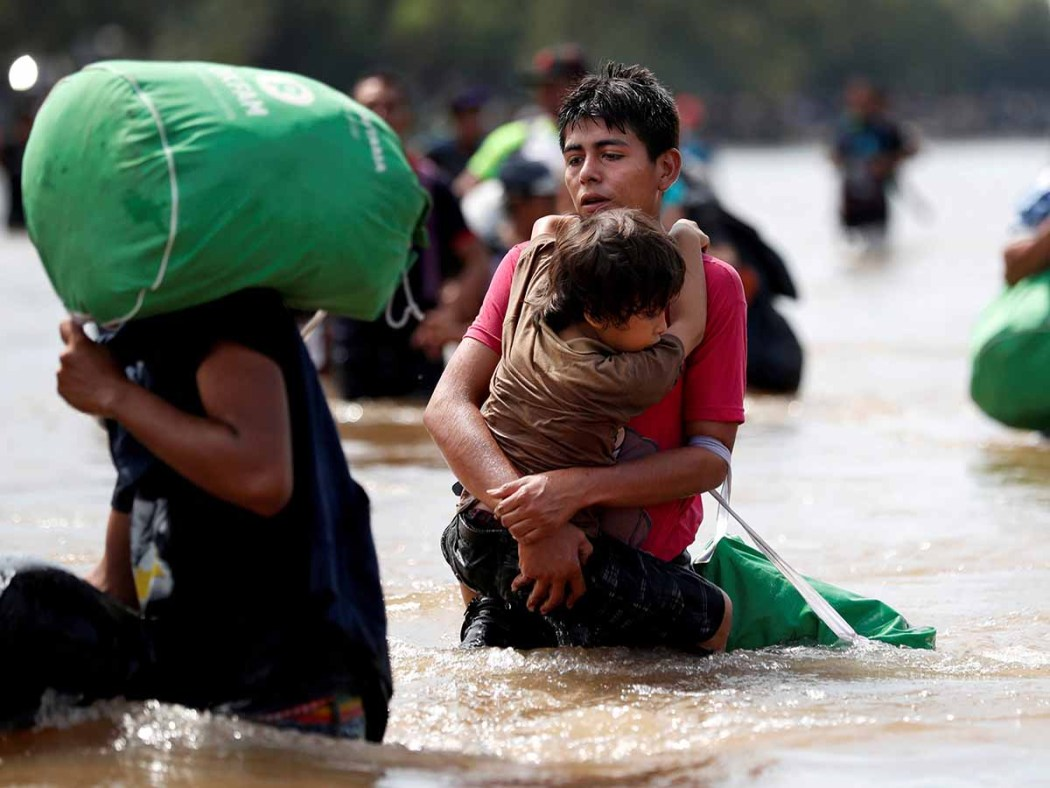 FILE PHOTO: A Picture and its Story: Central American migrants trek north to seek a better life