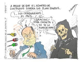 Caricaturas de Filóchofo sobre realidad nacional | Parte 7
