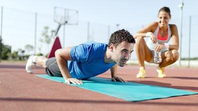 Entrenadores personales en Madrid para entrenamiento al aire libre