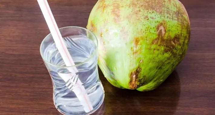 El agua de coco es excelente para correr una maratón
