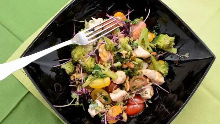 Ensalada rápida con vegetales
