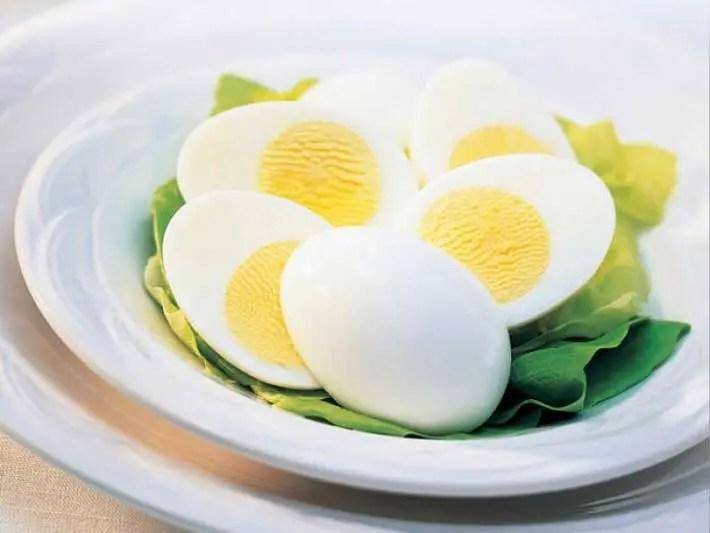 Los huevos duros son un gran snack