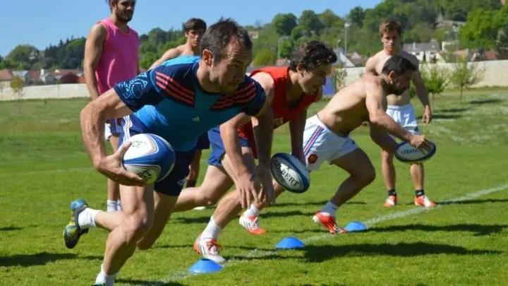 ejercicios de entrenamiento de rugby seven